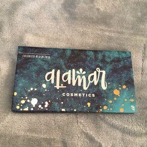Alamar Cosmetics Colorete Blush Trio Medium/Tan